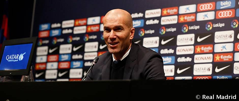 """Zidane: """"Kami telah meraih satu angka yang sangat penting dengan mengandalkan jiwa tim ini\"""