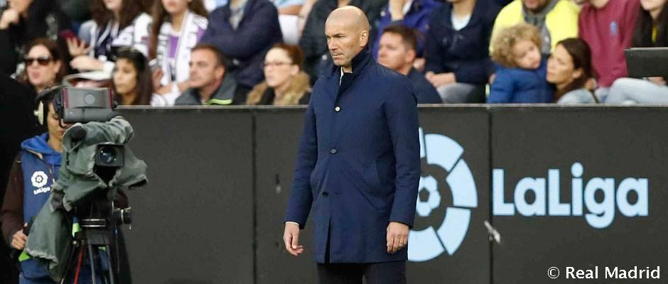 Zidan: Borishimiz kerak bo'lgan yana bir o'yin bor va La Liga chempionligi uchun kurash hali yakunlanmadi.