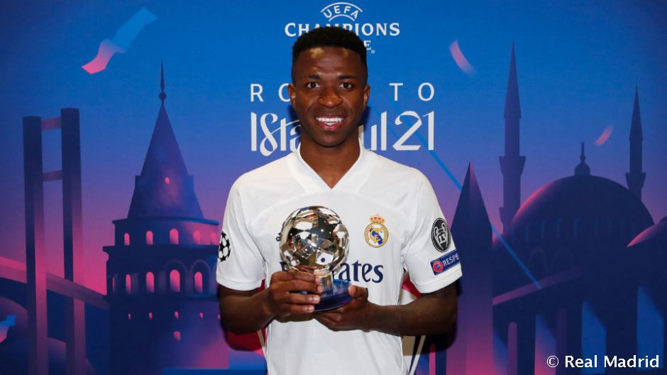 Vinicius Jr. named Man of the Match in Real Madrid vs ...
