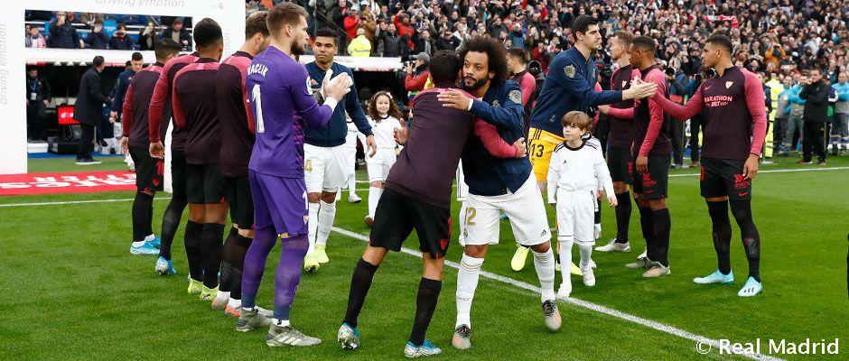 Real Madrid Sevilla La Liga Matchday 20 Real Madrid Cf