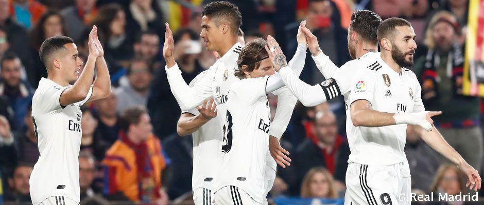 Barcelona - Real Madrid | Copa del Rey February 06 2019 | Real Madrid CF