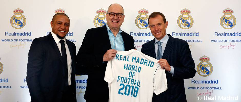 Presentación de Real Madrid World of Football, Come Play!