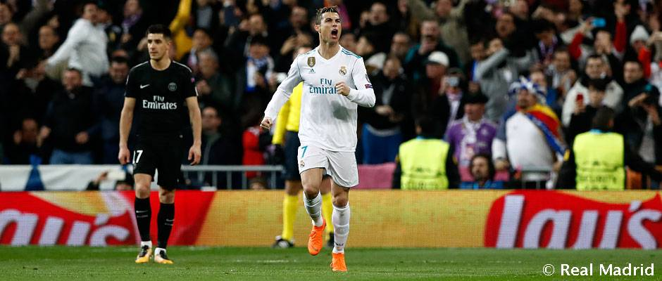 Cristiano Ronaldo  101 goals for Real Madrid in the Champions League ... 3b04c333a97a7