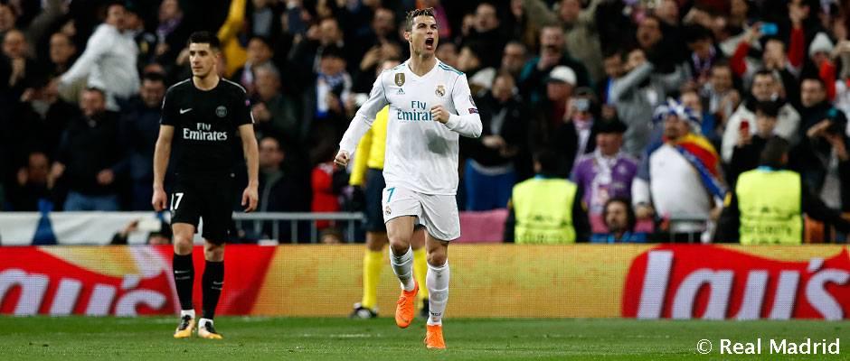 Cristiano Ronaldo  101 goals for Real Madrid in the Champions League ... b597f43ea
