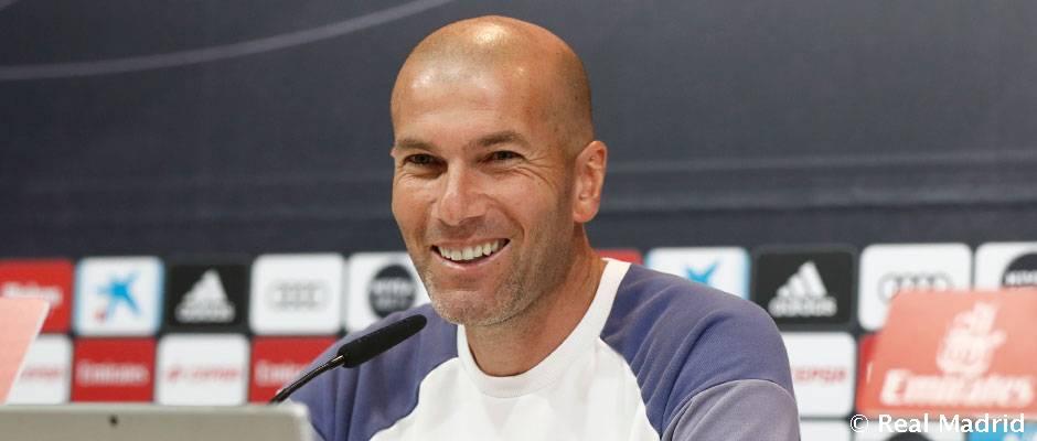 Zidan: Biz La Ligadagi ikkita finalga tayyormiz.