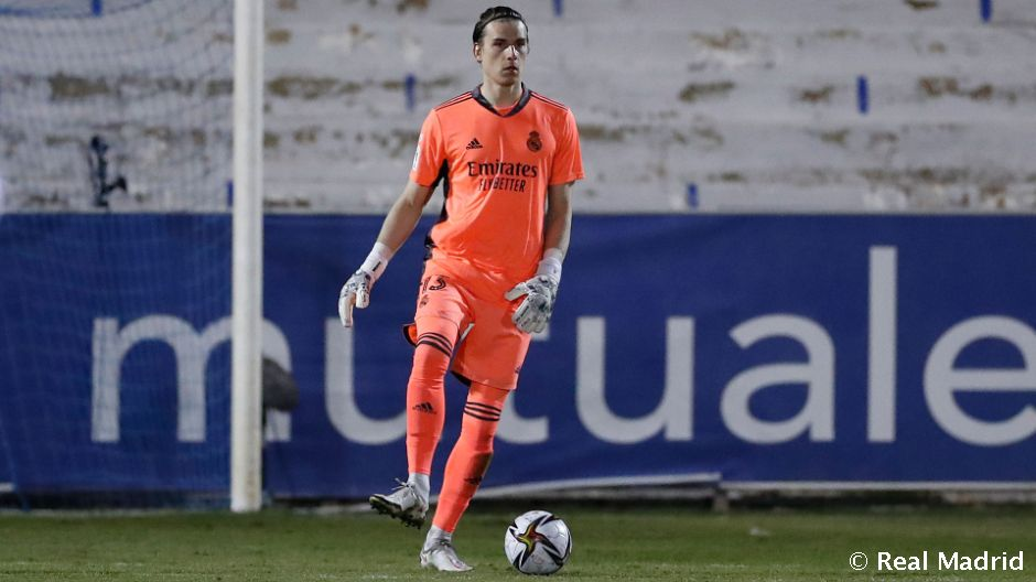 Lunin makes his competitive Real Madrid debut