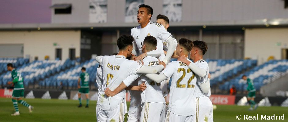 Real Madrid Castilla - Coruxo