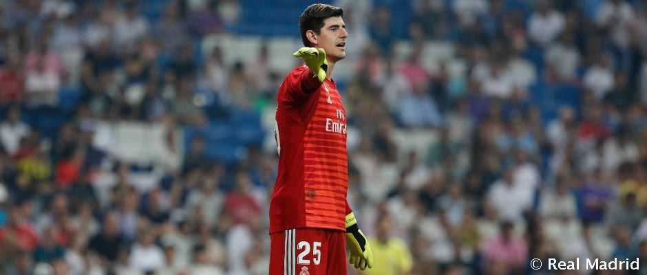Courtois Makes His Real Madrid Debut