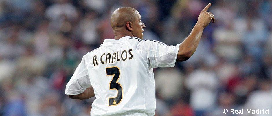 Historic Goals Roberto Carlos Real Madrid Cf