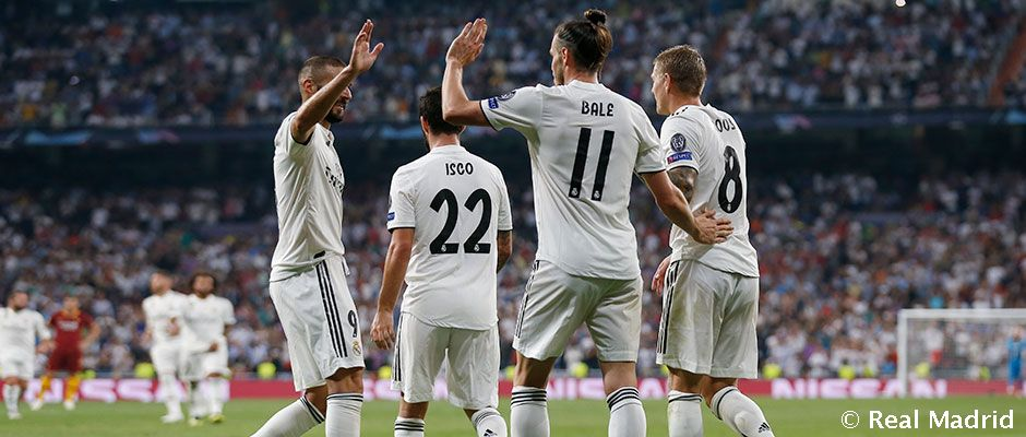 Real Madrid - Roma | Champions League Matchday 1 | Real Madrid CF