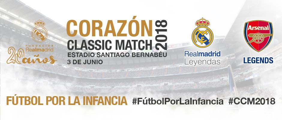 The Corazón Classic Match will be played on Sunday 3rd June