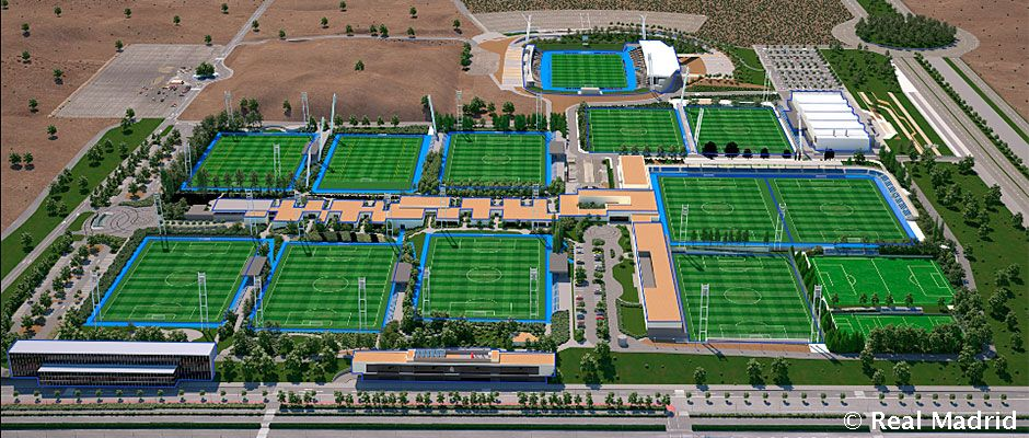 Discover Real Madrid City in 3D   Real Madrid CF