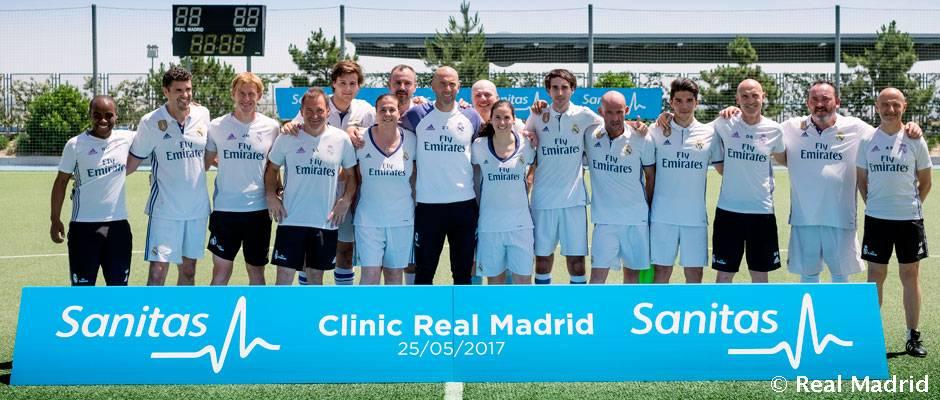Zidane y su cuerpo t cnico participaron en un cl nic de for Oficinas de sanitas en madrid