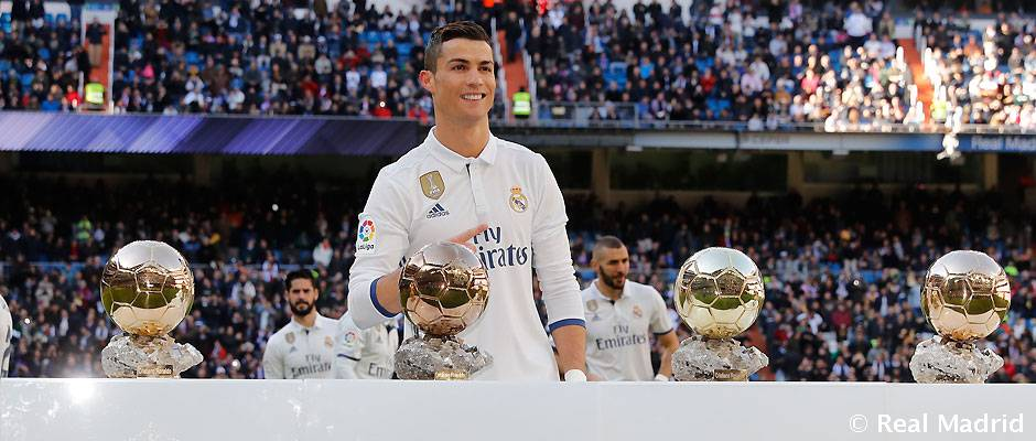 Cristiano Ronaldo Cumple 32 Anos Real Madrid Cf