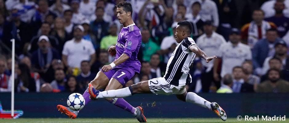 CHAMPIONS CUARTOS (IDA) 03/04/2018 JUVENTUS  REAL MADRID Cristiano_he11834