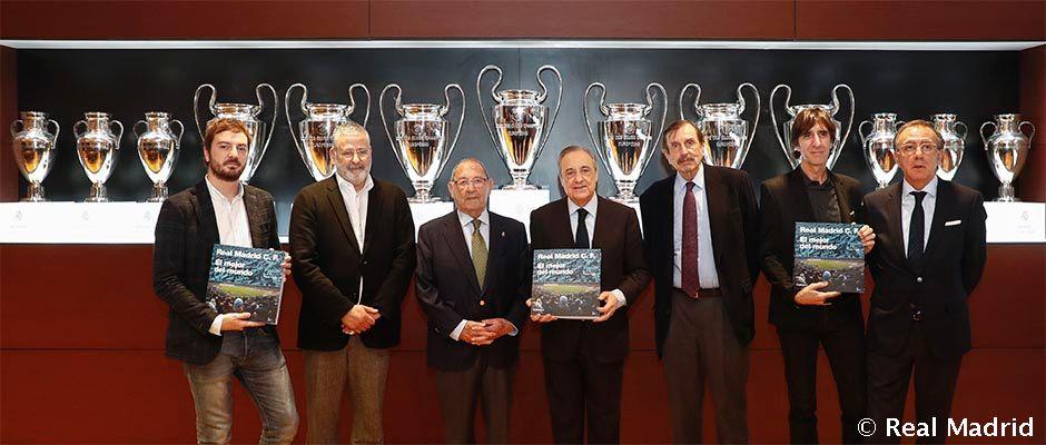 Presentation Of The Book Real Madrid C F El Mejor Del Mundo