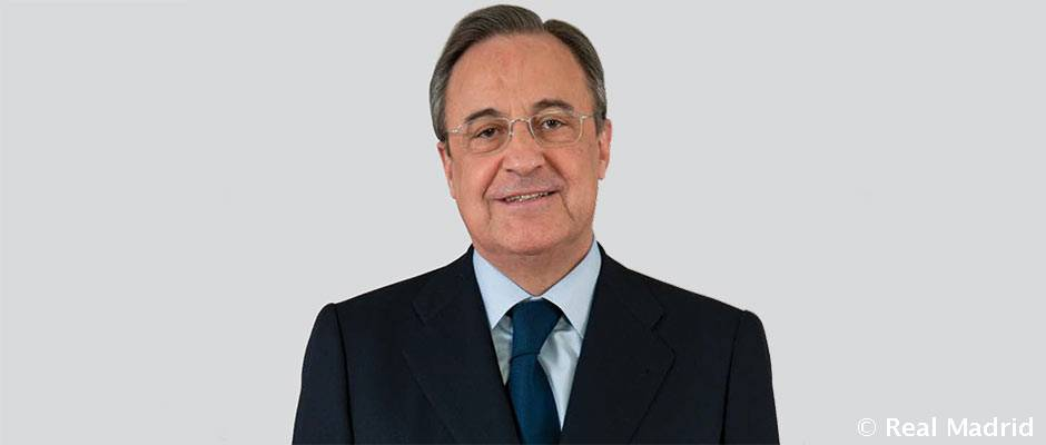 Florentino Perez Chosen As Best Ceo In Spain  By The Spanish Branch Of Forbes