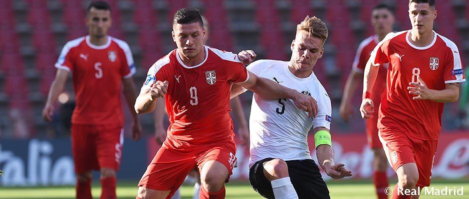 Yovich Serbiya tarkibida gol ura olmadi