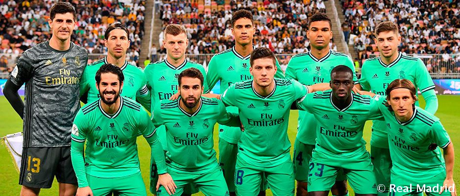 Real Madrid S Starting Line Up Against Atletico Real Madrid Cf