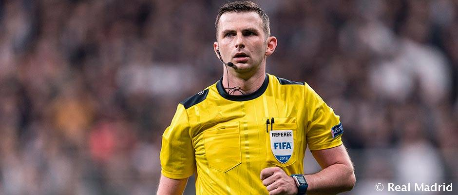 Michael Oliver will referee Real Madrid v Juventus | Real ...