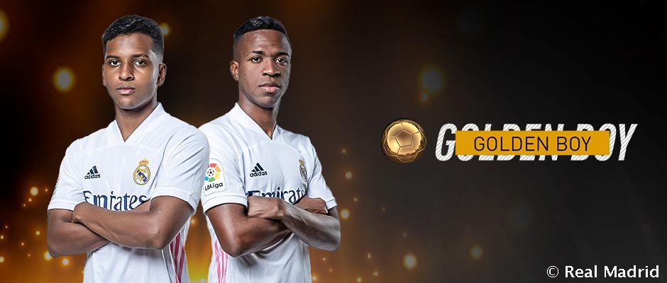 """Vinisius va Rodrygo """"Golden Boy-2020"""" uchun da'vogar"""