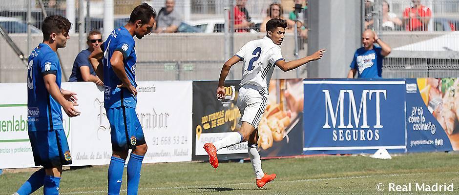 1 1 Achraf Gets A Point For Castilla In Fuenlabrada Real Madrid Cf