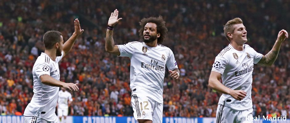 Real Madrid V Galatasaray Out To Secure Win To Edge Closer To Last 16