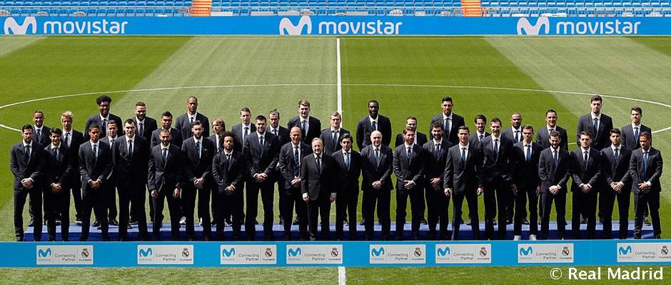 Presentacion Del Acuerdo De Patrocinio Entre El Real Madrid Y Telefonica