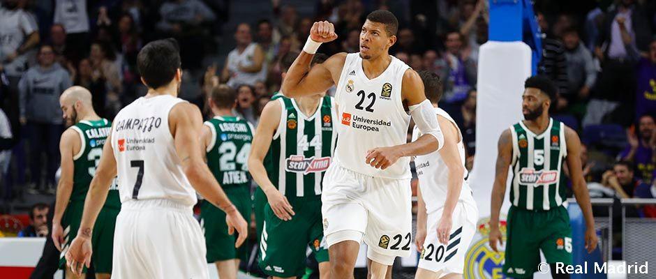 Resultado de imagen de real madrid panathinaikos basketball