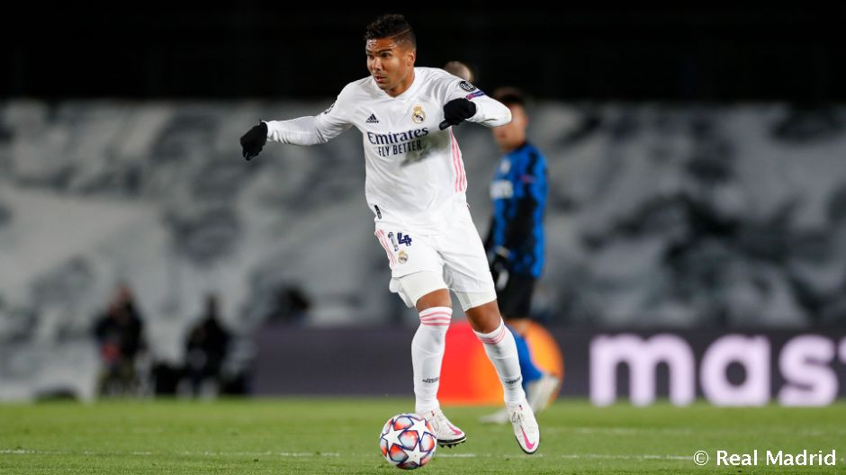 Casemiro makes 250th Real Madrid appearance