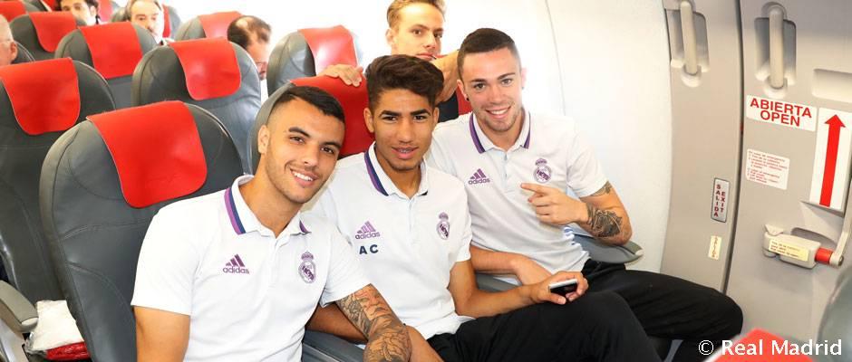 Viaje del Real Madrid a Dortmund