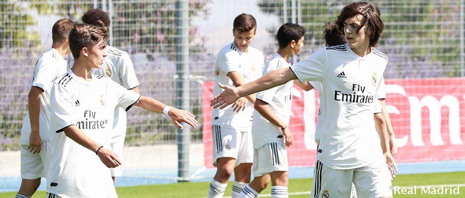 Cantera del Real Madrid  Partidos y Clasificación  f696184a88d7e