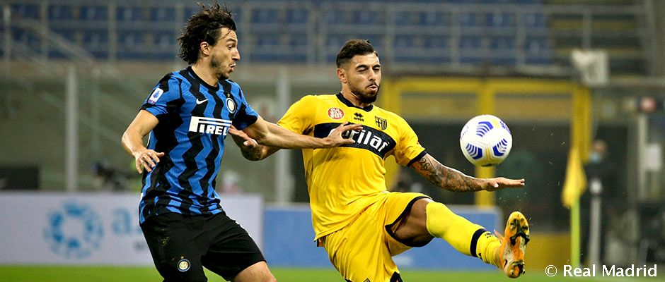 2 2 Inter Draw Against Parma Ahead Of Real Madrid Visit Real Madrid Cf