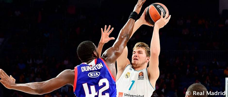 Doncic Nets His Highest Points Total With Real Madrid