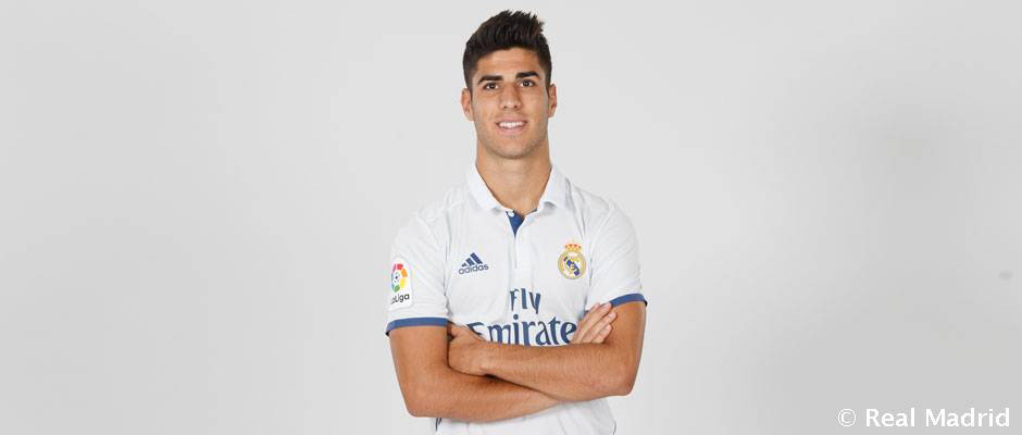 """buy popular c952d 874fa Asensio: """"Zidane was my idol when I was younger and to be ..."""