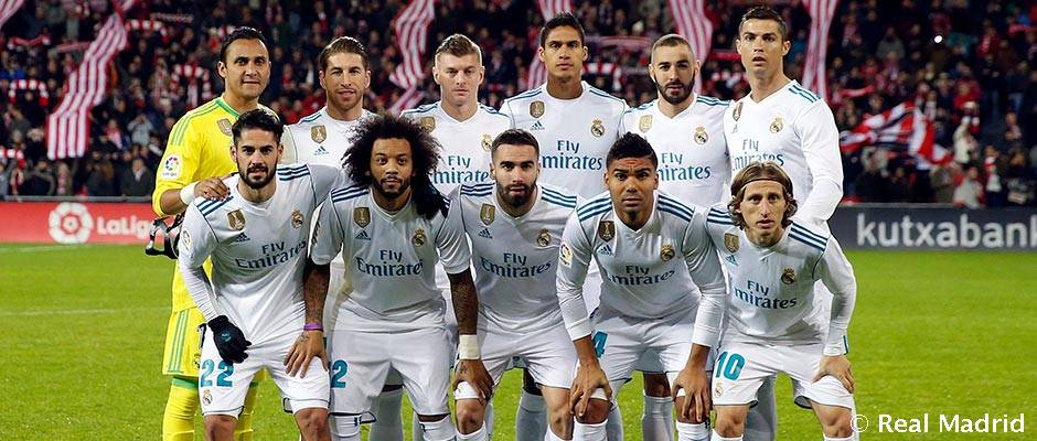 real madrid s starting line up for the champions league final real