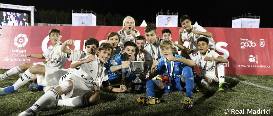 1-1: The Under-13s win the XXIII LaLiga Promises