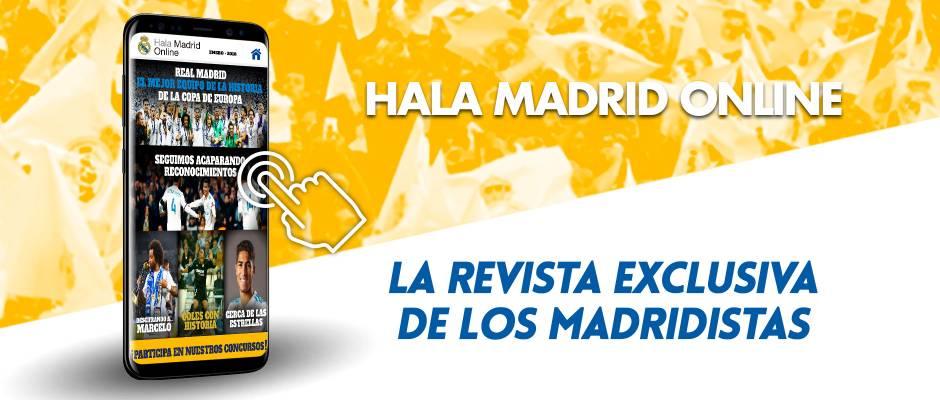 Revista del mes de enero de Hala Madrid