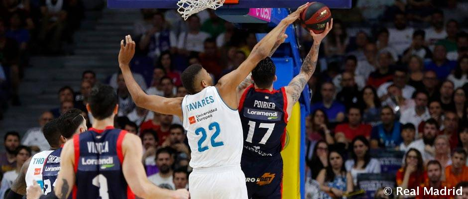 Tavares: madridista to record highest number of blocks in a season since Sabonis