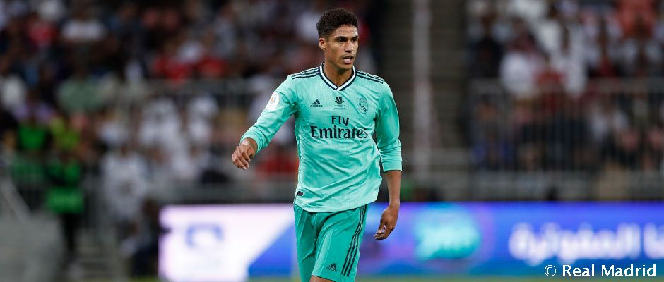 Varane reaches 200 wins for Real Madrid