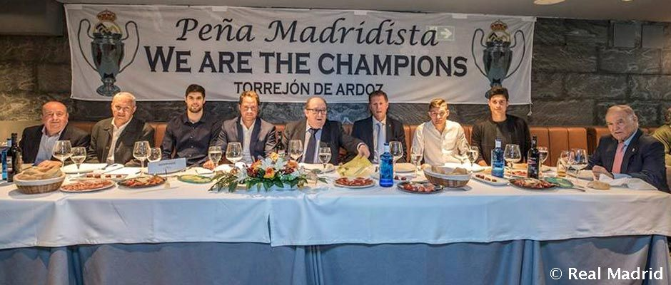 Peña Madridista We are the champions