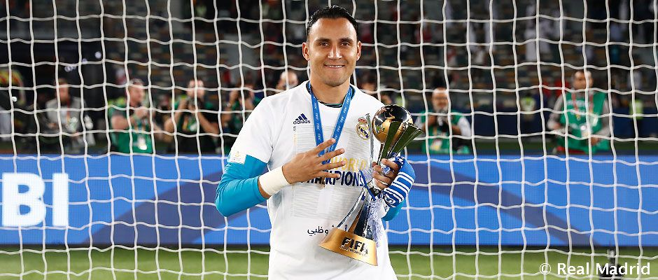 newest c9a33 8a8a4 Keylor Navas named Concacaf Goalkeeper of the Year
