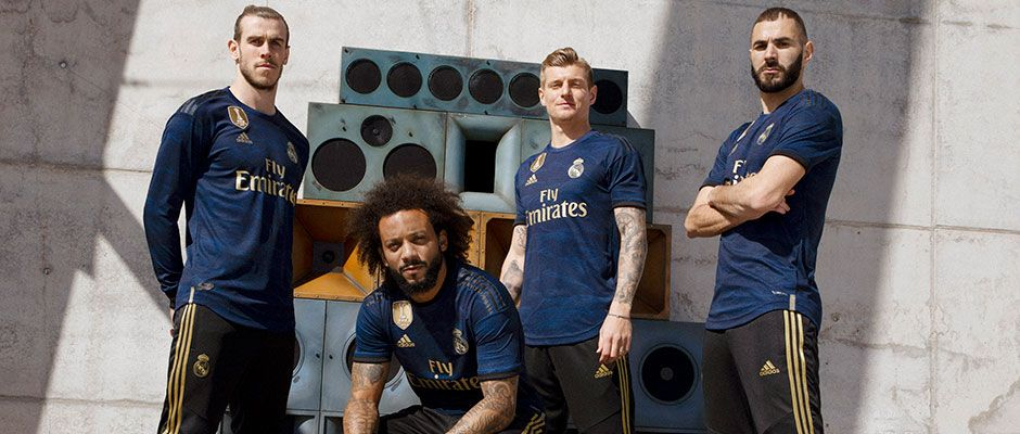 Real Madrid and adidas unveil 2019/20 away kit