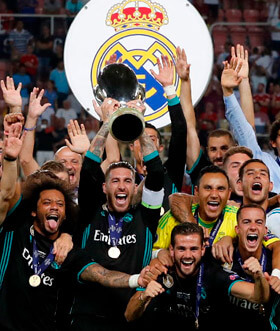 The fourth UEFA Super Cup