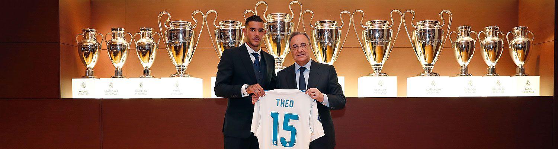 Theo, nuevo jugador del Real Madrid