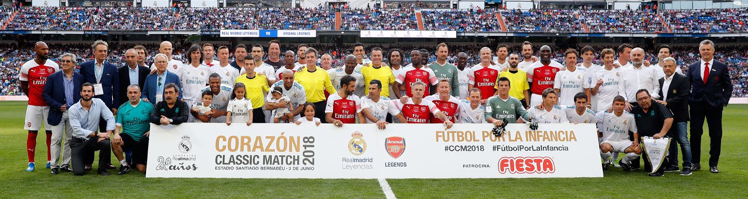 Corazón Classic Match 2018: Real Madrid Leyendas - Arsenal Legends