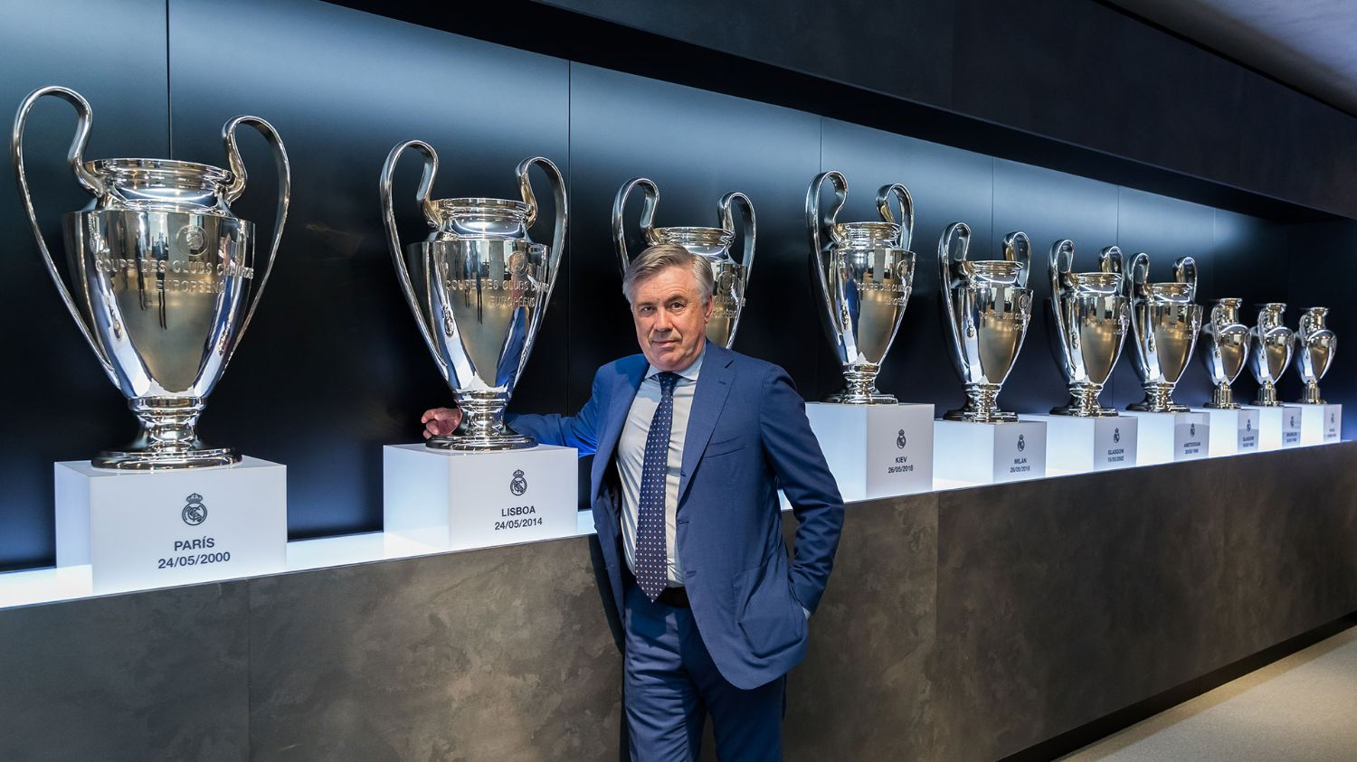"""Ancelotti: """"I'm back with more experience and I know Real Madrid very well""""  
