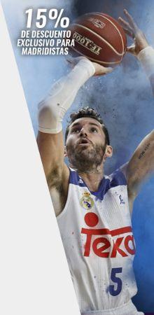 Entradas Real Madrid Baloncesto - ICL Manresa