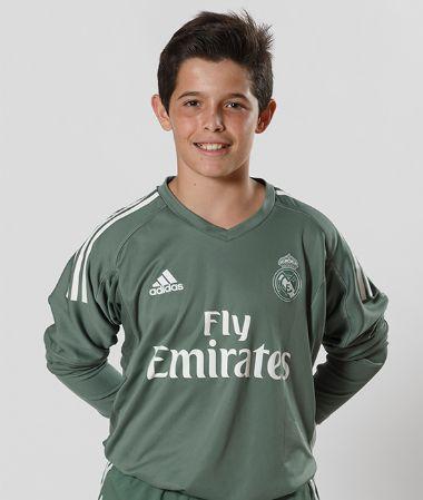 Ángel | portero Infantil A | Real Madrid CF