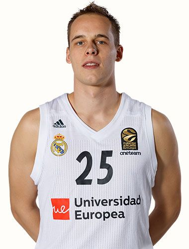26eee9804ff Real Madrid Basketball Team and Roster